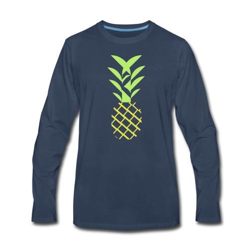 Pineapple flavor - Men's Premium Long Sleeve T-Shirt