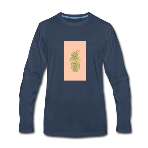 pinaple - Men's Premium Long Sleeve T-Shirt