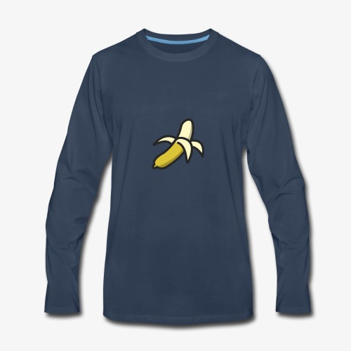 Banana Logo - Men's Premium Long Sleeve T-Shirt