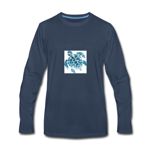 turtle - Men's Premium Long Sleeve T-Shirt