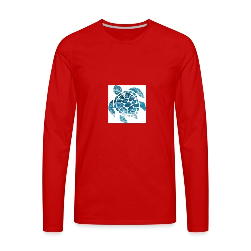turtle - Men's Premium Long Sleeve T-Shirt