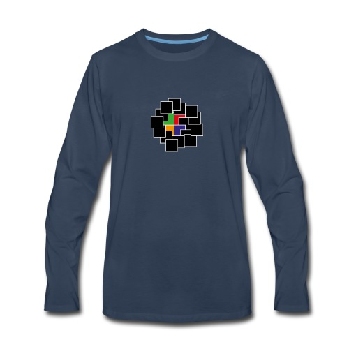 cubes - Men's Premium Long Sleeve T-Shirt