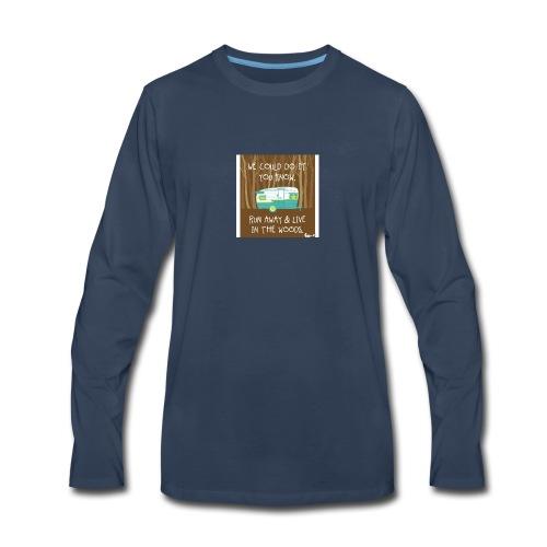 Camping - Men's Premium Long Sleeve T-Shirt