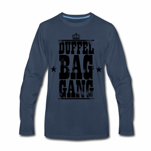 DuffelBagGang Promo T Shirts - Men's Premium Long Sleeve T-Shirt