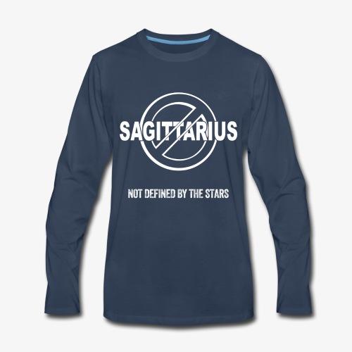 Sagittarius - Not Defined by the Stars - Men's Premium Long Sleeve T-Shirt