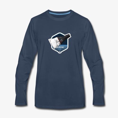 Space Race Series: GEMINI - Men's Premium Long Sleeve T-Shirt