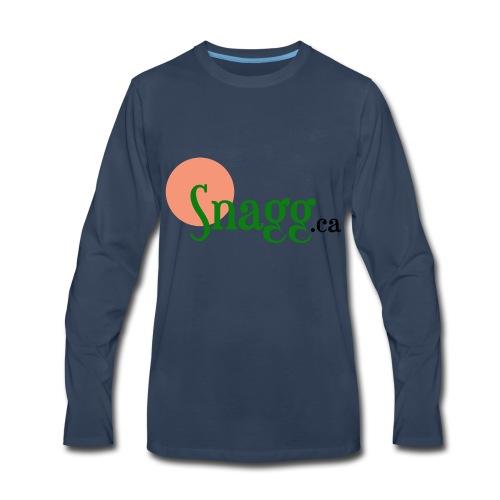 Snagg ca - Men's Premium Long Sleeve T-Shirt