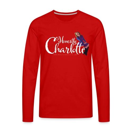 Honestly Charlotte Cast & Crew - Men's Premium Long Sleeve T-Shirt