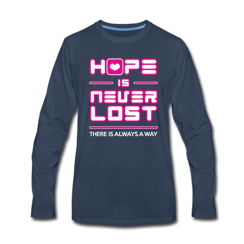 Hope is Never Lost - Men's Premium Long Sleeve T-Shirt