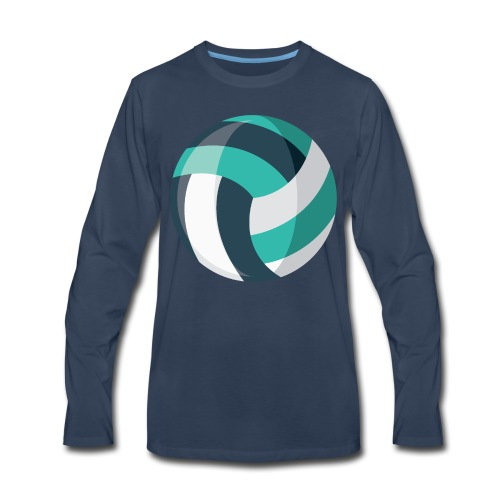 Volleyball - Men's Premium Long Sleeve T-Shirt