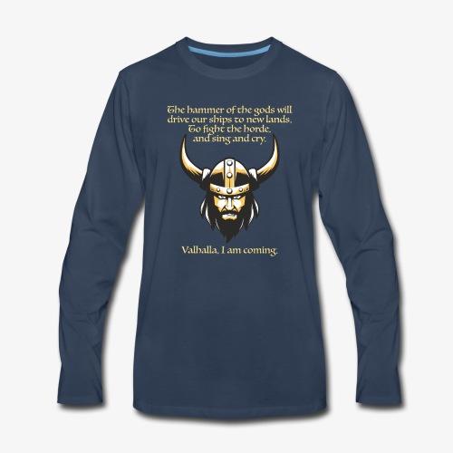 Hammer of the Gods - Men's Premium Long Sleeve T-Shirt
