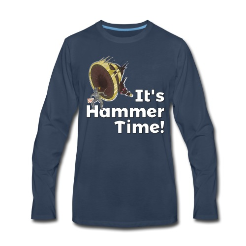 It's Hammer Time - Ban Hammer Variant - Men's Premium Long Sleeve T-Shirt