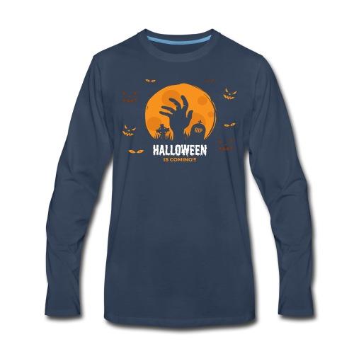 Halloween is coming - Men's Premium Long Sleeve T-Shirt