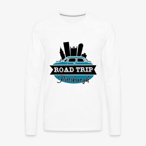 road trip - Men's Premium Long Sleeve T-Shirt