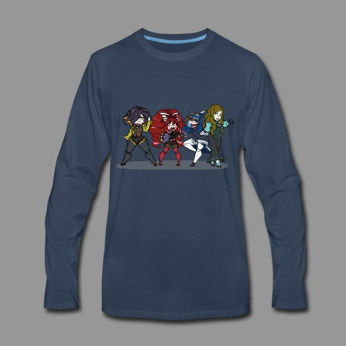 Chibi Autoscorers - Men's Premium Long Sleeve T-Shirt
