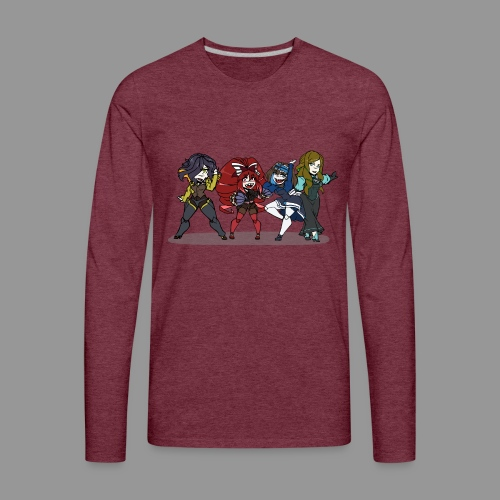 Chibi Autoscorers - Men's Premium Long Sleeve T-Shirt