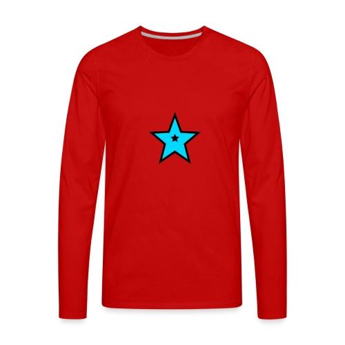 New Star Logo Merchandise - Men's Premium Long Sleeve T-Shirt