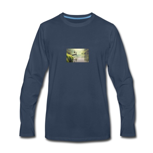 fishing - Men's Premium Long Sleeve T-Shirt