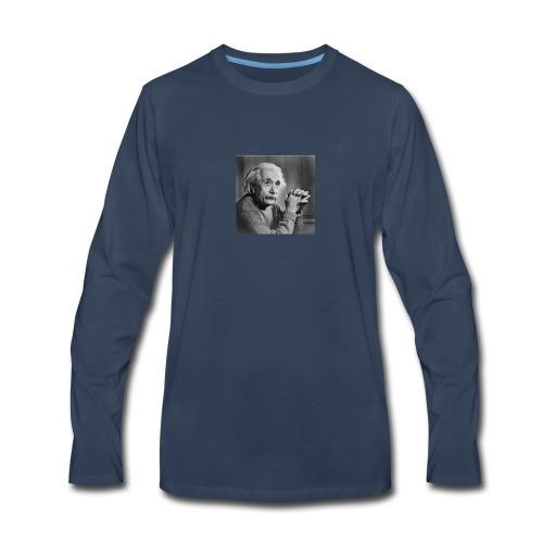 Albert Einstein - Men's Premium Long Sleeve T-Shirt
