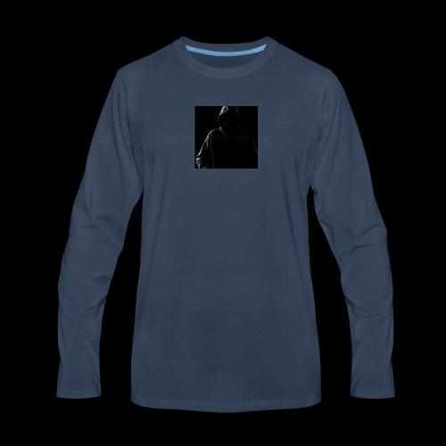 HOODED AJEV MERCH 1 - Men's Premium Long Sleeve T-Shirt
