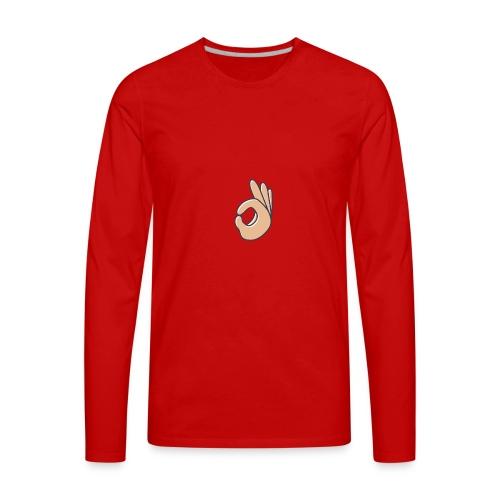 Neck - Men's Premium Long Sleeve T-Shirt