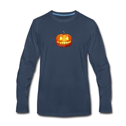 halloween-pumpkin - Men's Premium Long Sleeve T-Shirt