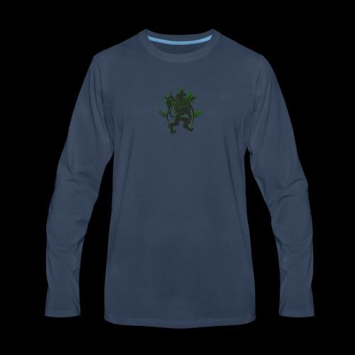 The AfrLoy logo - Men's Premium Long Sleeve T-Shirt
