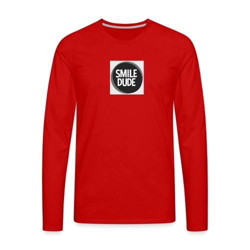 smiledude - Men's Premium Long Sleeve T-Shirt