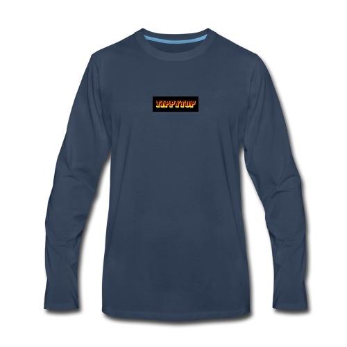 clothing brand logo - Men's Premium Long Sleeve T-Shirt