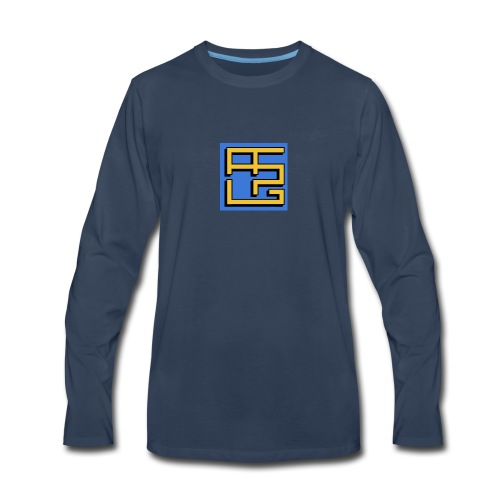 Andrews Brick Models Wearables and Accessories - Men's Premium Long Sleeve T-Shirt