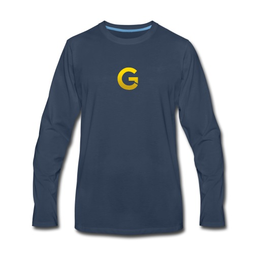Goldencami s Gold G - Men's Premium Long Sleeve T-Shirt