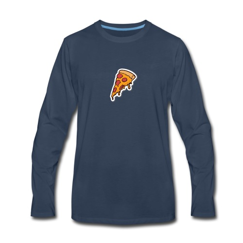 pizza - Men's Premium Long Sleeve T-Shirt