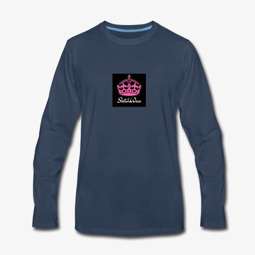 Boucher Fashion Logo - Men's Premium Long Sleeve T-Shirt