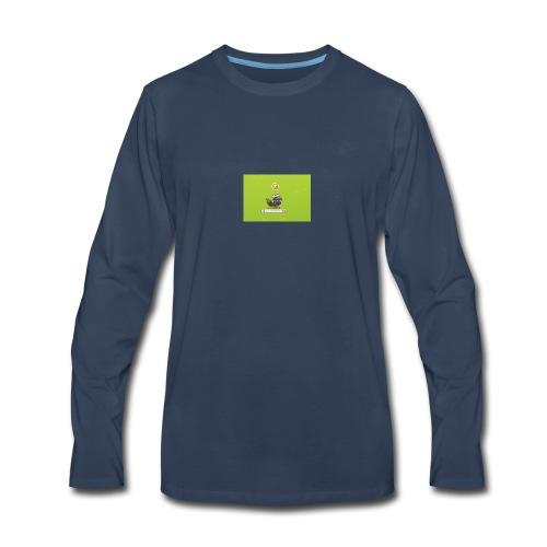 Awesomecoolkawaii emote shirt - Men's Premium Long Sleeve T-Shirt