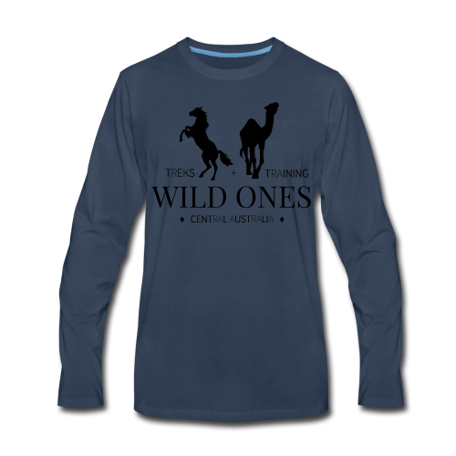 Wild Ones Logo - Men's Premium Long Sleeve T-Shirt