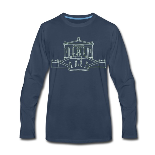 Nationalgalerie Berlin - Men's Premium Long Sleeve T-Shirt