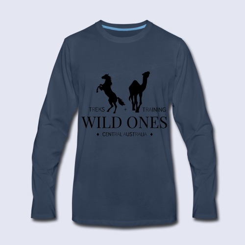 Wild Ones Logo - Men's Premium Long Sleeve T-Shirt