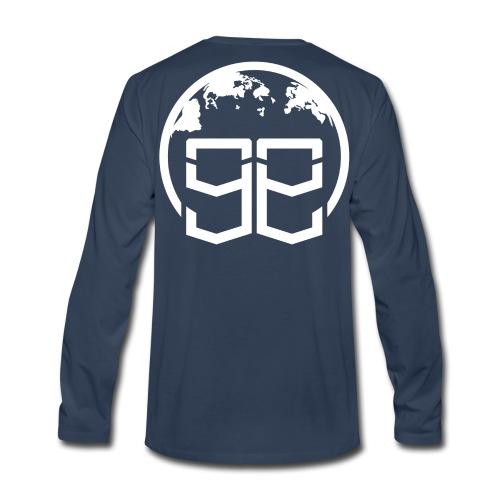 Global Goons White original - Men's Premium Long Sleeve T-Shirt