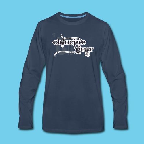 Dad's Swim Taxi - Men's Premium Long Sleeve T-Shirt