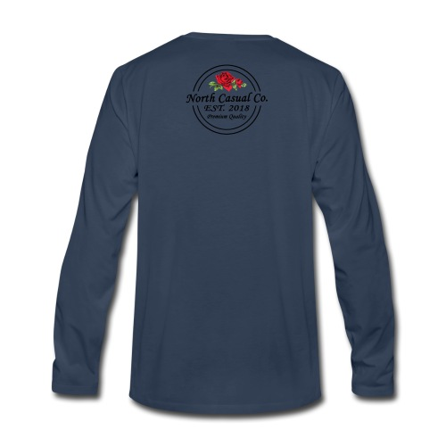 North Casual Co. - Men's Premium Long Sleeve T-Shirt