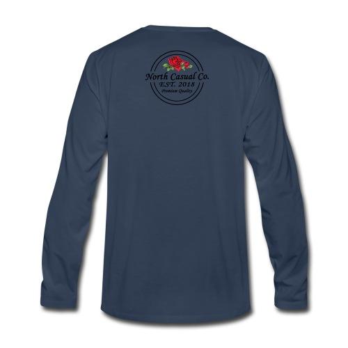 North Casual Co. - Men's Premium Long Sleeve T-Shirt