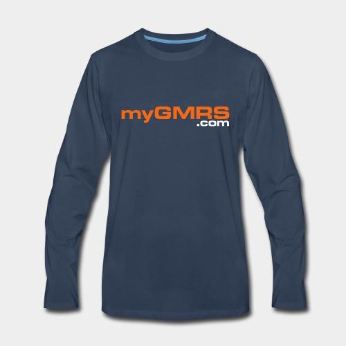myGMRS.com and Tower - Men's Premium Long Sleeve T-Shirt