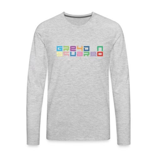 Greydon Square Colorful Tshirt Type 3 - Men's Premium Long Sleeve T-Shirt
