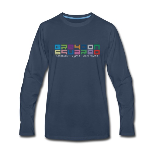 Greydon Square Colorful Tshirt Type 3 - Men's Premium Long Sleeve T-Shirt