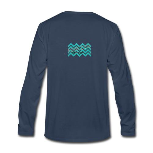 Fern Lyn Flaming official logo - Men's Premium Long Sleeve T-Shirt