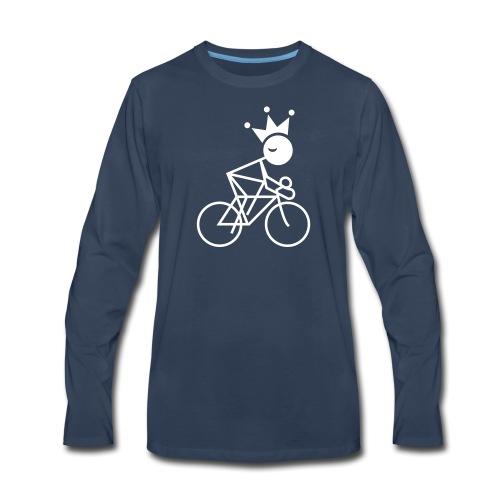 Winky Cycling King - Men's Premium Long Sleeve T-Shirt