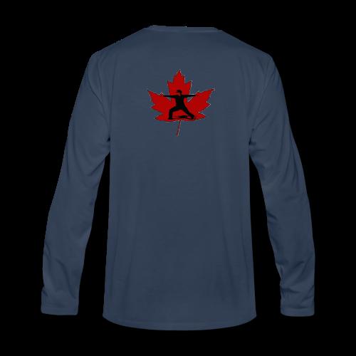 Canadian Warrior - Men's Premium Long Sleeve T-Shirt
