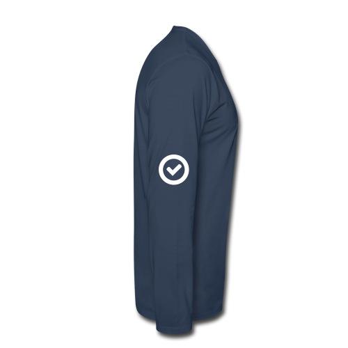 Check - Men's Premium Long Sleeve T-Shirt
