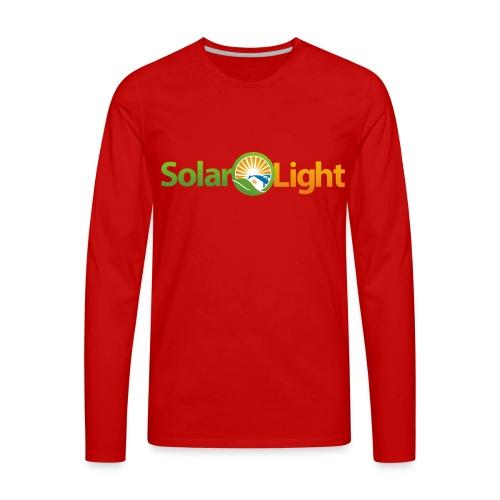 Solar Light Logo only - Men's Premium Long Sleeve T-Shirt