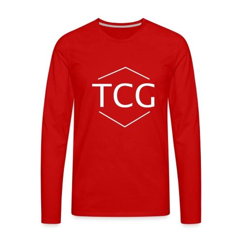 Simple Tcg hoodie - Men's Premium Long Sleeve T-Shirt